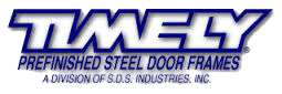 Timely - Prefinished Steel Door Frames