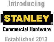 Stanley Commercial Door Hardware